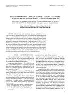 prikaz prve stranice dokumenta Utjecaj mineralnog i biorazgradivoga ulja na rasadničku klijavost i rast sadnica hrasta lužnjaka (Quercus robur L.)
