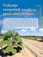 prikaz prve stranice dokumenta Podizanje energetskih nasada za proizvodnju biomase