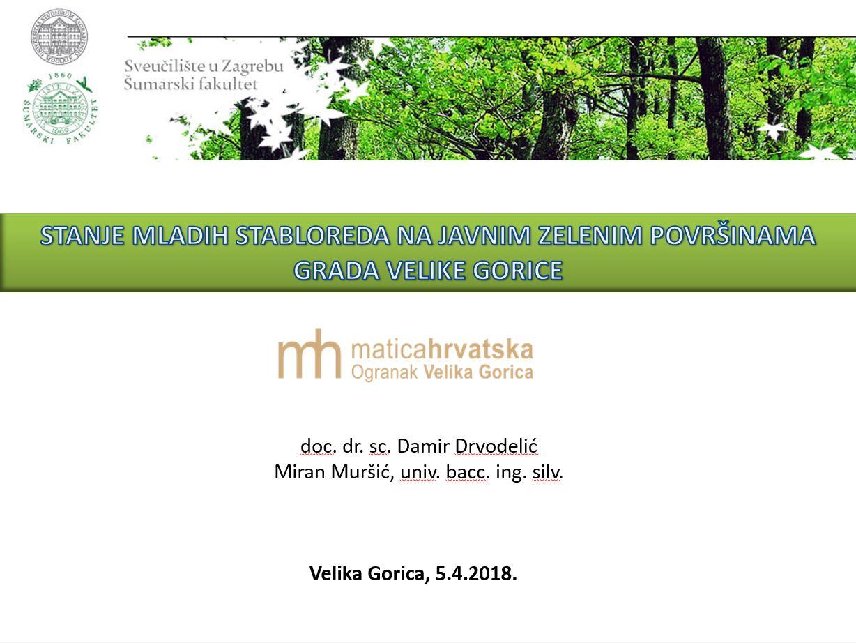 prikaz prve stranice dokumenta Stanje mladih stabloreda u Velikoj Gorici